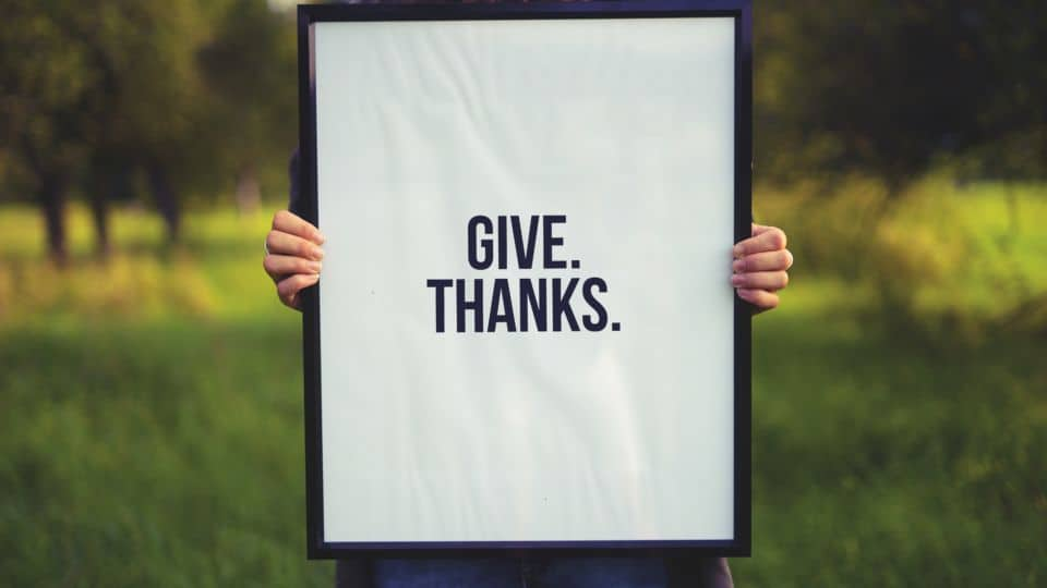 10 Things You Probably Don't Even Realize You're Thankful For