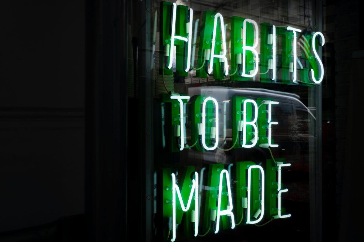 starting new habits