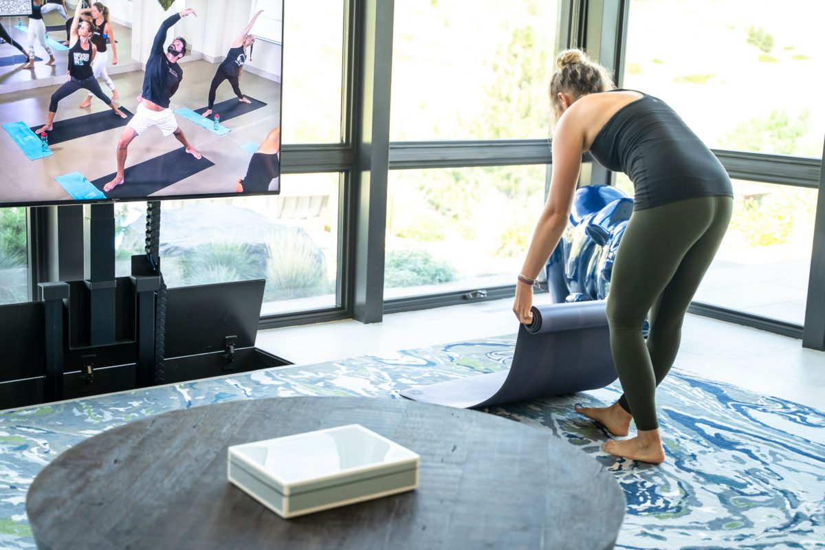 online yoga workout