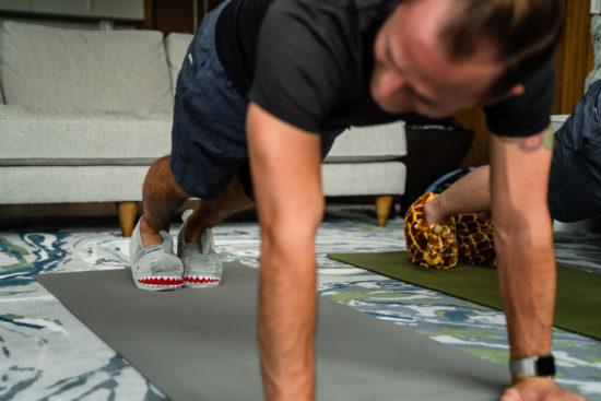 online yoga workout