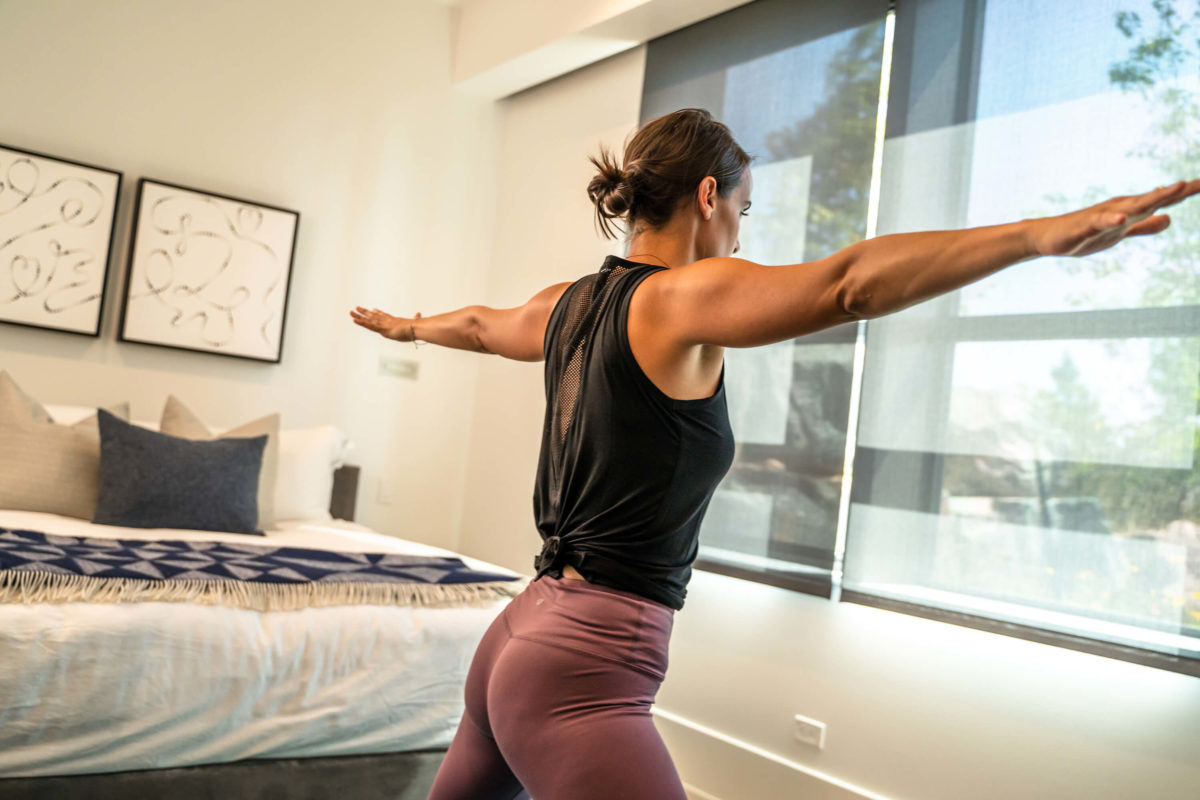yoga workouts at home